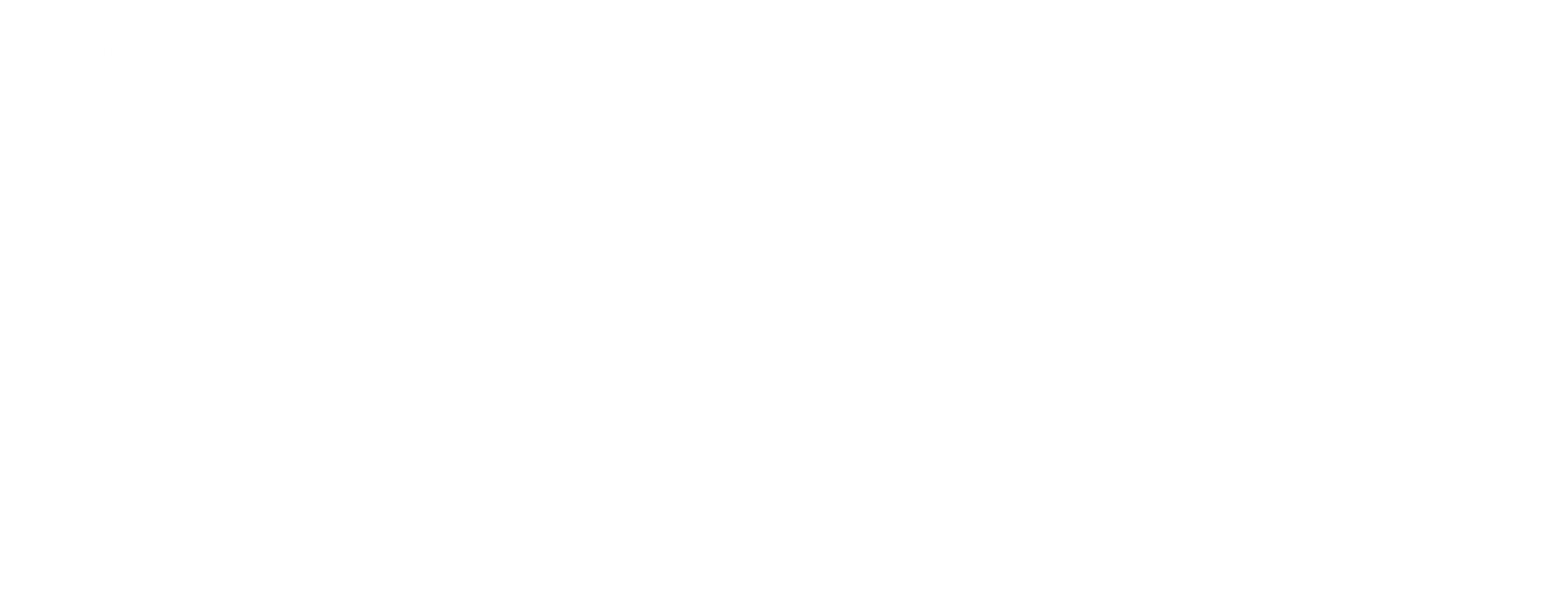 Diversity Consortium Logo All White
